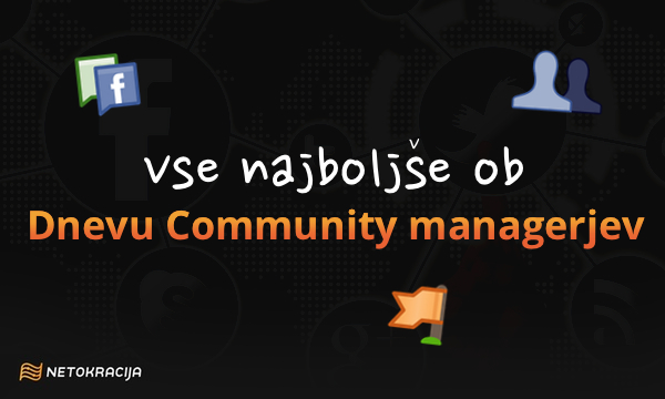 Danes je Community Manager Appreciation Day.